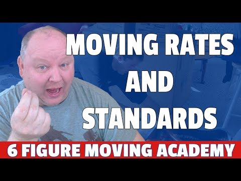 Moving Company Rates And Standards