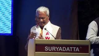 Shri Hukumchandji Chordiya, Founder of Pravin Masalewale at SGI's 21st Foundation Day 2019