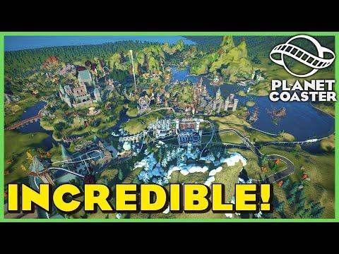 The Never Ending Story: Fantasy Mega Park! Park Spotlight 181 #PlanetCoaster