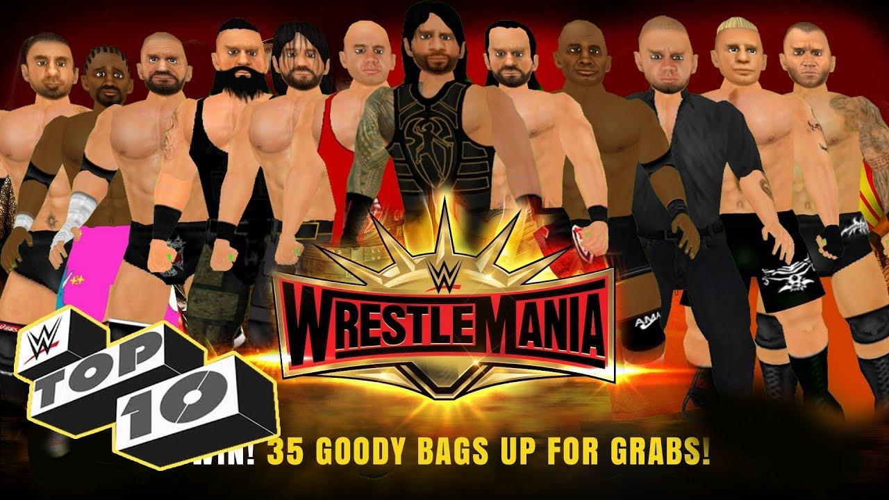 Top 10 WrestleMania 35 Moments | WR3D