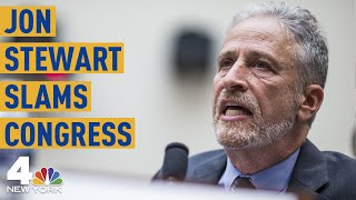 Download Jon Stewart Rips Congress: The Comedian's Full Testimony on  9/11 First Responders | NBC New York Mp3 and Videos