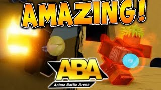 PLAYING MY FAVORITE ANIME GAME!! | Roblox: Anime Battle Arena