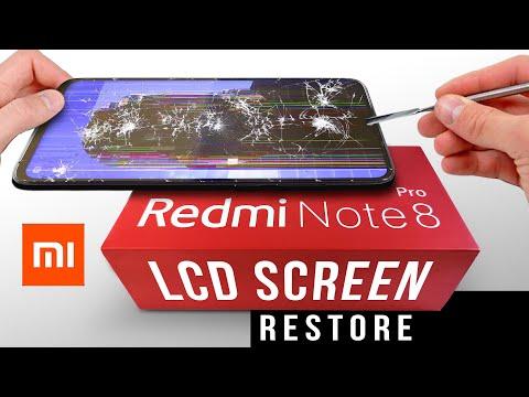 Xiaomi Redmi Note 8 Pro LCD screen restoration | Replacement