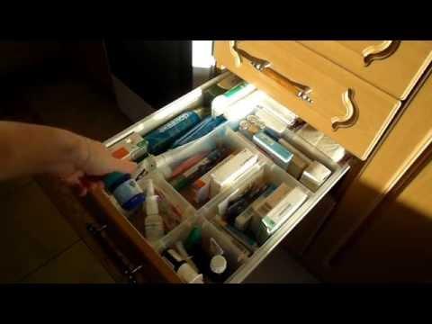 Организация и хранение лекарств \ Организация аптечки