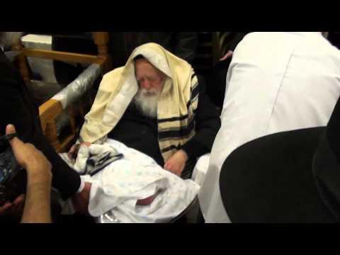 Rabbi Chaim Kanievsky - Godfather to Itamar Cohen - Son of Daniel & Orit