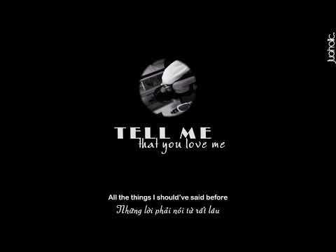 [ Lyrics + Vietsub] Tell Me That You Love Me - James Smith