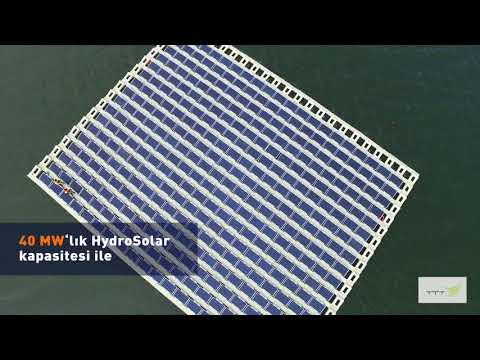 Türkiye'nin En Büyük Yüzer Güneş Enerjisi Sistemi: HYDROSOLAR