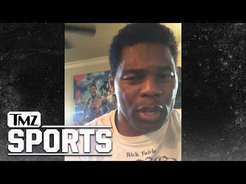 Herschel Walker Says Baker Mayfield's the Next Favre, Not the Next Manziel! | TMZ Sports