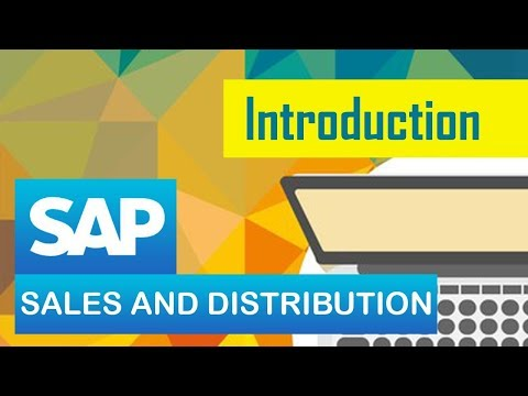SAP SD | Introduction to SD module in SAP | Sales & Distribution | SAP ERP