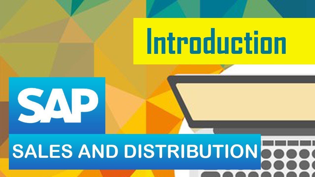 sap sd introduction to sd module in sap sales distribution sap erp [ 1280 x 720 Pixel ]