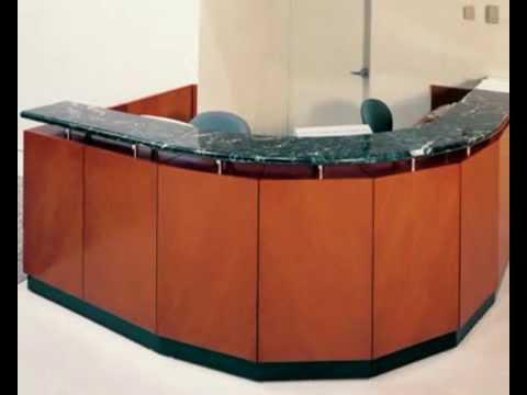 Semi Circle Reception Desk