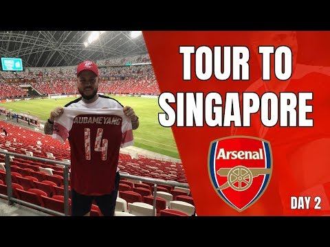 Arsenal's Singapore Tour - Day 2 - Plus the Matchday Vlog