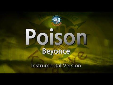 Beyonce-Poison (MR) (Karaoke Version) [ZZang KARAOKE]