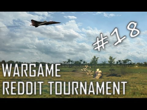 Wargame: Red Dragon Reddit Tournament - Warmongers vs The Refugees (Bo3 -  Game 1)
