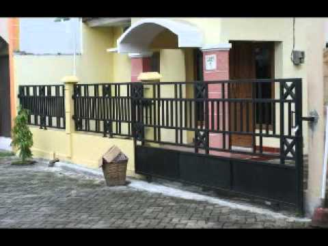 Pembuatan Pagar Besi di Jogja Hub.0813 9261 3403