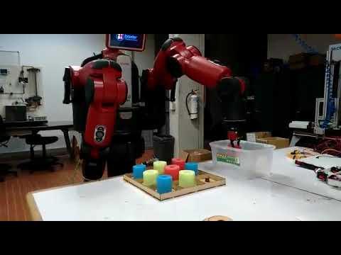 Experimentos - Ingeniería Mecatrónica Baxter