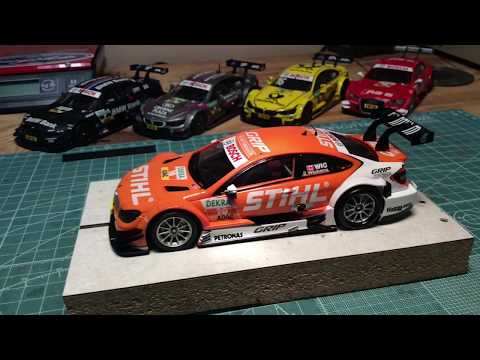 Carrera D132 1/32 Digital DTM Tuning Video Cincyslots.com Slot Car