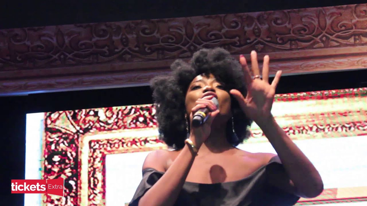 Download Ghanaian act, Efya Dazzles at Julius Agwu's Life As I See It Concert