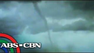 Tornado caught on video in Pangasinan