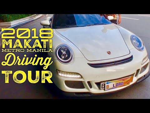 2018 Makati Metro Manila Driving Tour Overview Joyride 60FPS