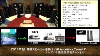 高級スピーカー音質比較(2) YG Acoustics Carmel 2