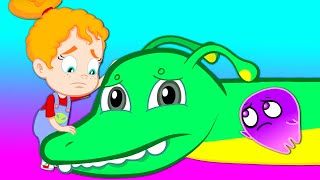 Groovy The Martian & Phoebe - Groovy transforms into a brontosaurus dino to save a dinosaur egg!