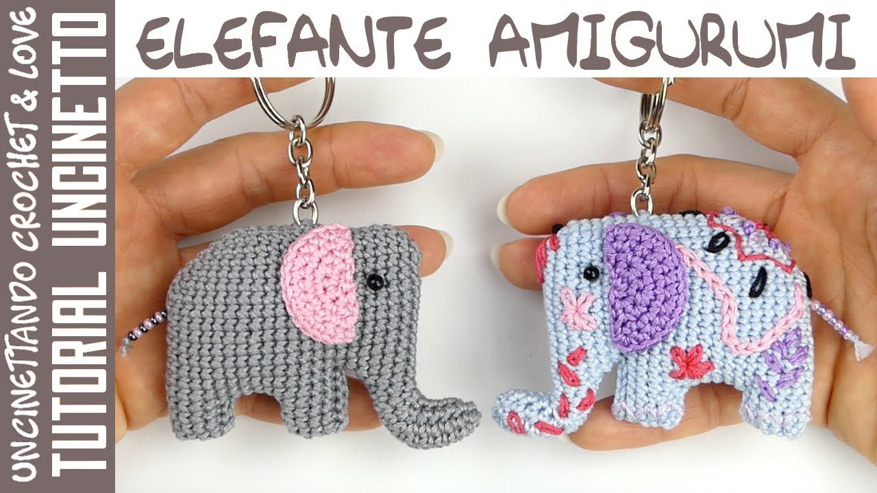 Elil the Chibi Elephant Amigurumi PDF Pattern | Crochet hippo ... | 720x1280