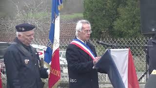 2018 03 19 Extraits Cérémonie à Nontron, Abjat sur Bandiat, Saint Estèphe