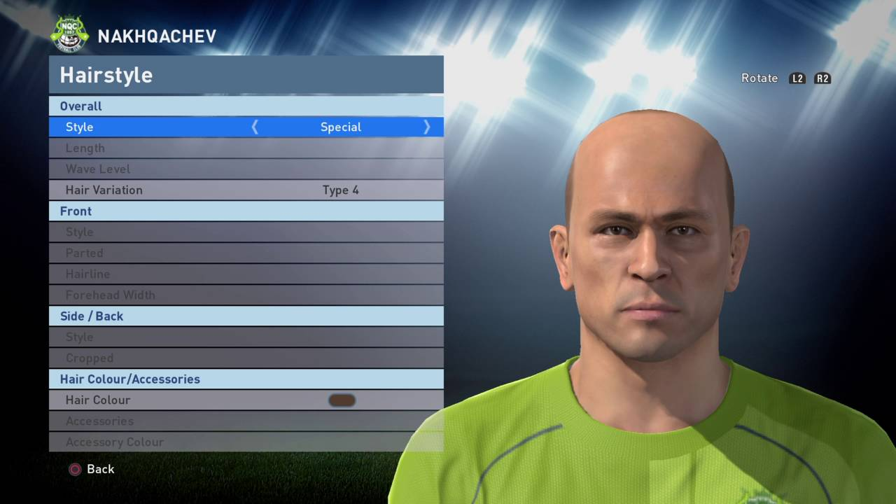 Pes 2016 How to create GRZEGORZ LATO