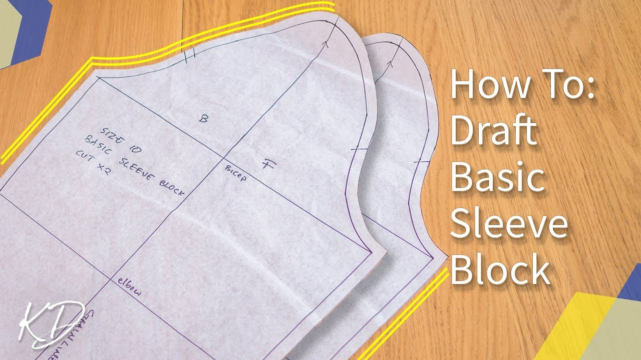 Download [DETAILED] HOW TO: MAKE BASIC SLEEVE PATTERN | KIM DAVE