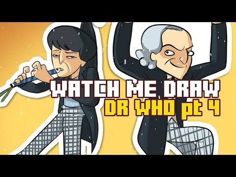Watch Me Draw The 2nd and 1st Doctors