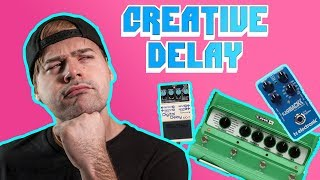 10 great ways to use delay on guitar 🎸