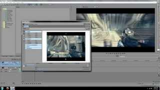 Sony Vegas Tutorial #1 - Make Videos 16:9 HD