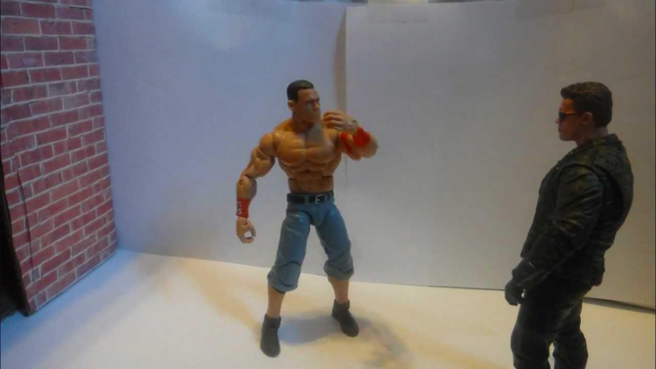 John Cena Vs Arnold Schwarzenegger