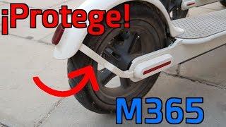 Soporte de Guardabarros Pl/ástico con Llave para M365//M365 Pro Keenso Soporte para Guardabarros Trasero del Patinete El/éctrico