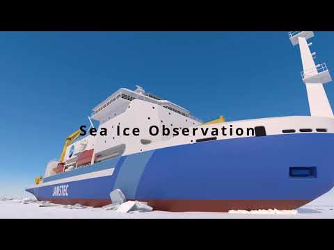 NEXT CHALLENGE -New Arctic Research Icebreaker in Motion-