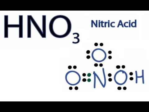 HNO3 Lewis Structure - How to Draw the...