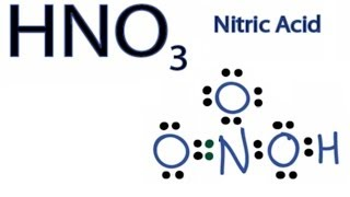 HNO3 Lewis Structure - How to Draw the Lewis Structure for HNO3