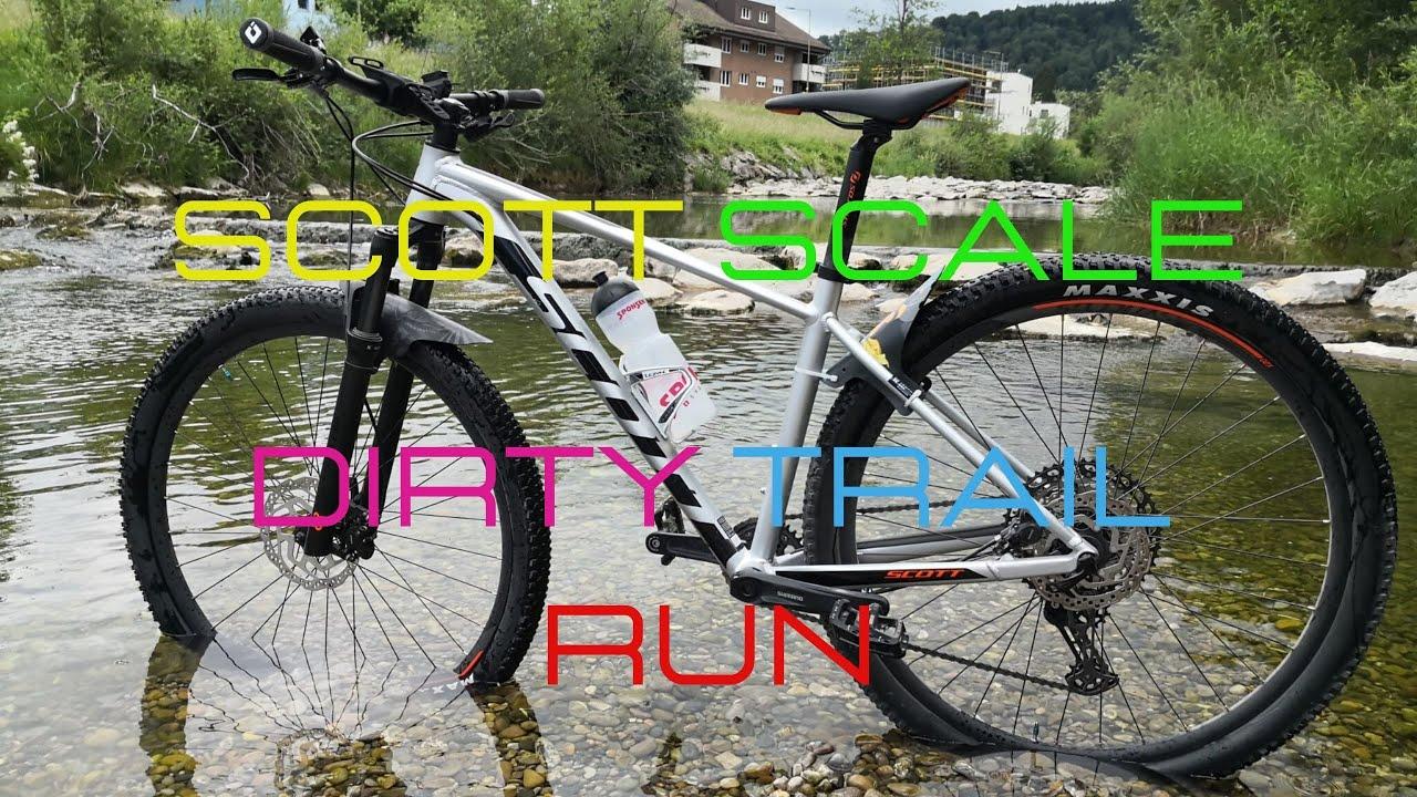 Scott Scale Dirty Trail Run woot! HardTail Power ;)