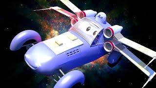 Малярная Мастерская Тома - Кейти - Икс-винг (из Звёздных войн) - детский мультфильм