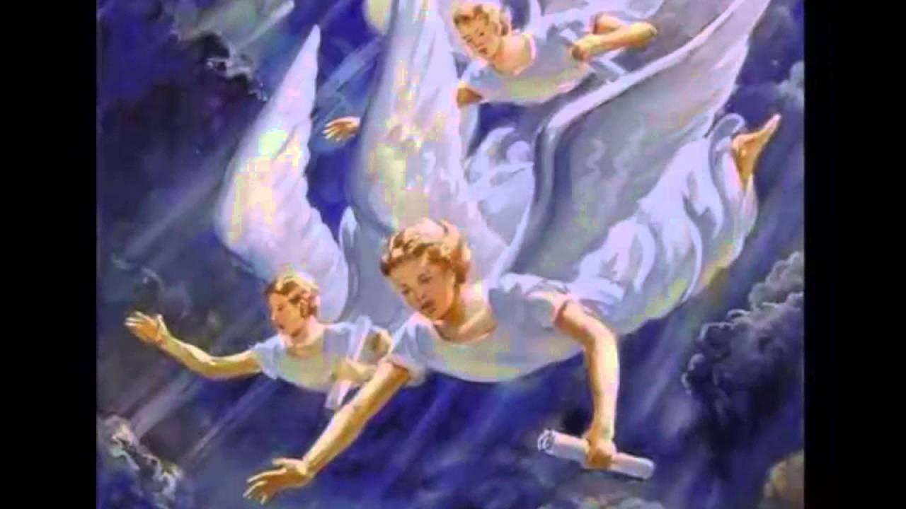 hay angeles volando en este lugar dei verbum