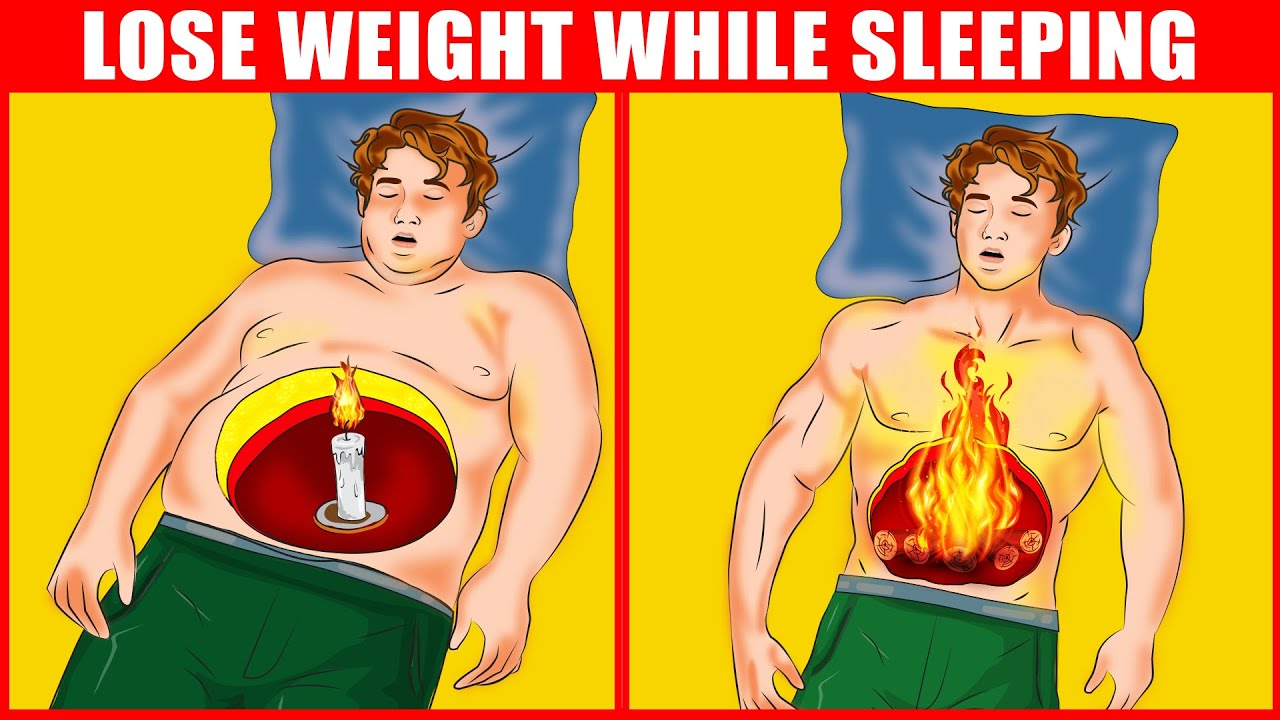 Scientific Ways to Lose Weight While Sleeping