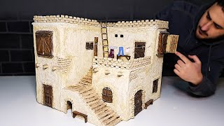 BRICKLAYING - MINI - HOUSE - OLD HOUSE MODEL