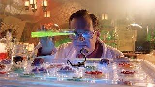 【穷电影】科学家在孤岛上研究怪异生物,却因为失误,造出了无数的怪物