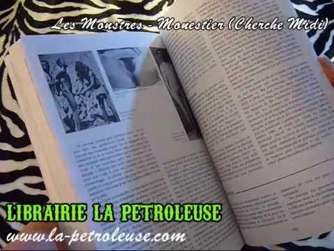 Livre / Book LES MONSTRES - Martin Monestier (Cherche Midi)