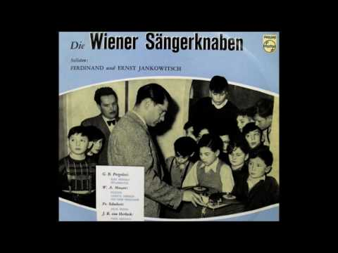The Wienersängerknaben with solos by the Jankowitsch Bros.(1955).