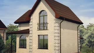 Самый популярный проект двухэтажного дома