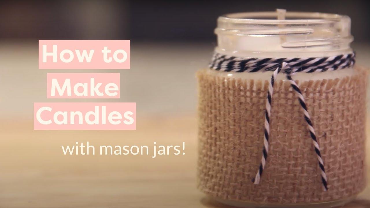 diy 5minute mason jar candles hello glow - 1280×720