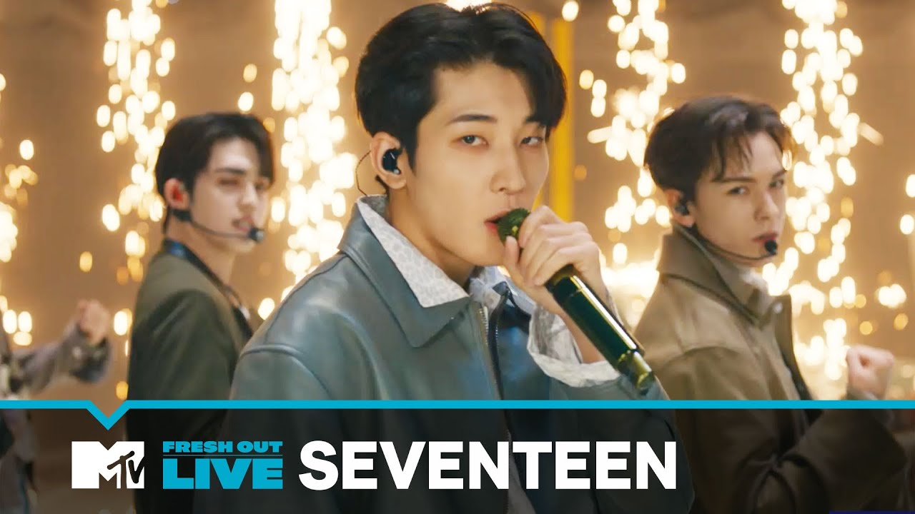 Download SEVENTEEN Performs 'Rock With You'   #MTVFreshOut