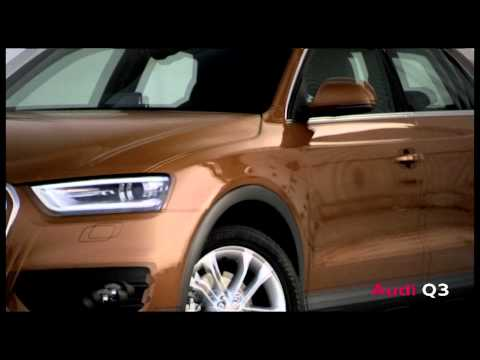 The 2012 Audi Q3 -- a premium SUV in compact form